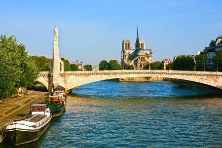 Photo for le pont neuf bridge riverside  in paris france - Royalty Free Image