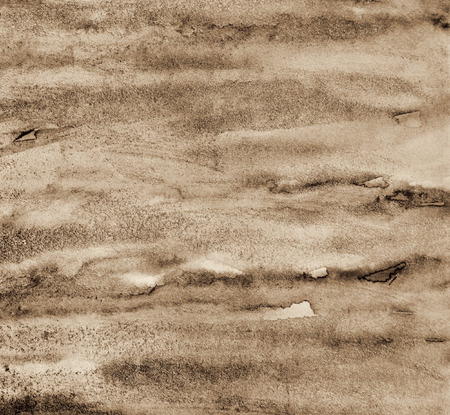 Photo pour Abstract watercolor on paper texture can use as background. In Sepia toned. Retro style - image libre de droit