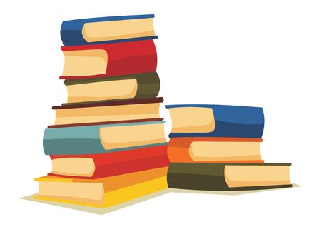 Illustration pour Cartoon books - image libre de droit
