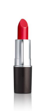 Photo pour Red lipstick isolated on white background - image libre de droit