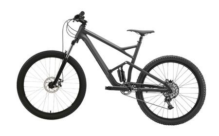 Photo pour mountain bike isolated - image libre de droit