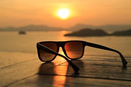Foto de Sunglasses at Sunset - Imagen libre de derechos