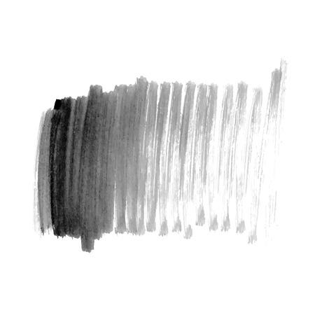 Illustration pour Vector hand drawn watercolor brush stain. - image libre de droit