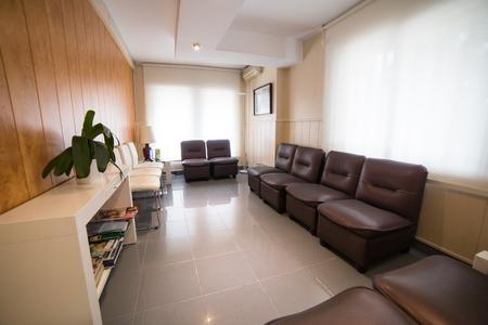 Foto de Dentist waiting room without people. - Imagen libre de derechos