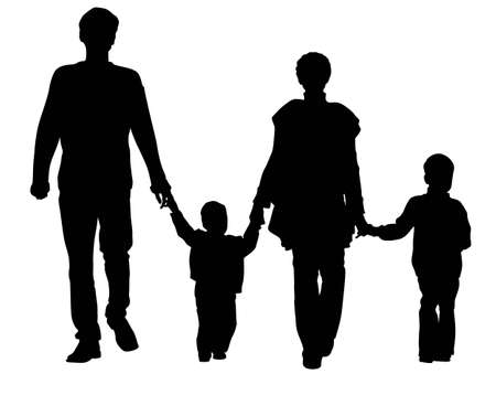 vector family of four