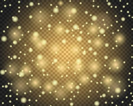 Illustration pour Light abstract glowing bokeh lights - image libre de droit