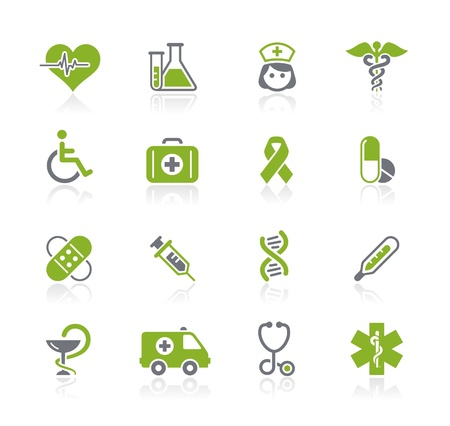 Photo for Medicine and Heath Care Icons -- Natura Series  - Royalty Free Image