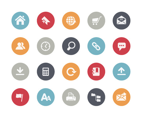 Illustration pour Website Icons Classics Series - image libre de droit