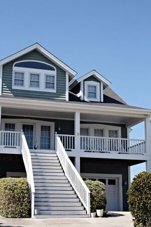 Beach Home With Long Steps