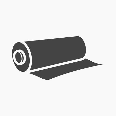 Illustration pour Textile roll icon of vector illustration for web and mobile design - image libre de droit