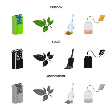 Ilustración de Vector design of healthy and floral. Collection of healthy and gradient vector icon for stock. - Imagen libre de derechos