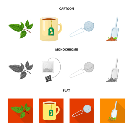 Ilustración de Isolated object of healthy and floral. Collection of healthy and gradient vector icon for stock. - Imagen libre de derechos