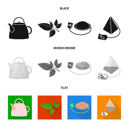 Ilustración de Isolated object of healthy and floral  sign. Collection of healthy and gradient vector icon for stock. - Imagen libre de derechos