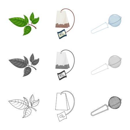 Ilustración de Isolated object of healthy and floral  symbol. Set of healthy and gradient vector icon for stock. - Imagen libre de derechos