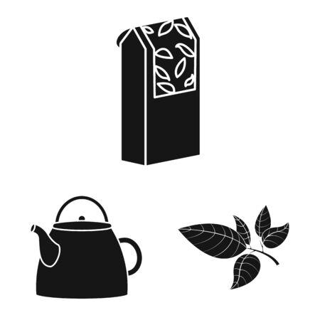 Ilustración de Vector design of medicine and gradient symbol. Collection of medicine and natural stock symbol for web. - Imagen libre de derechos