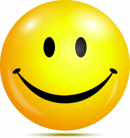 Illustration pour Happy smiley face - image libre de droit