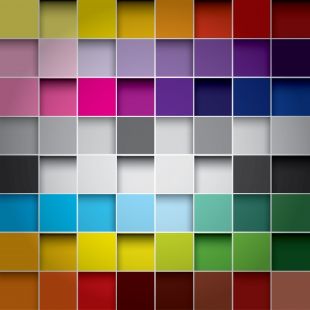 Ilustración de seamless blocks colour background - Imagen libre de derechos