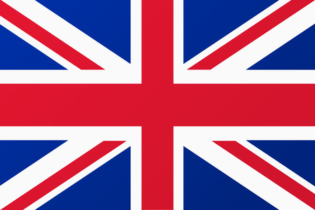 Illustration pour Great Britain, United Kingdom flag - image libre de droit