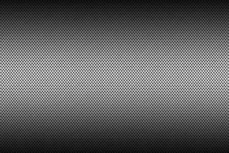 Photo pour Metal brushed background, perforated metal texture for industrial design projects - image libre de droit