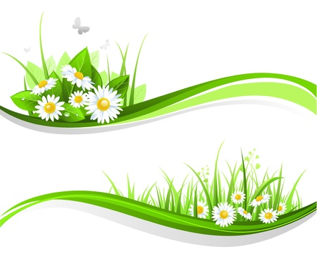 Illustration pour Natiral floral design  - image libre de droit