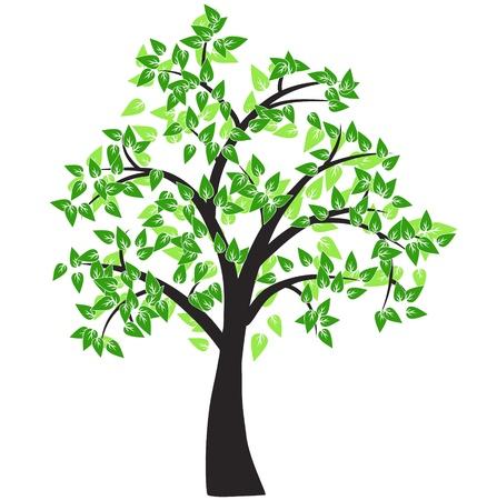 Illustration pour Decorative tree - image libre de droit