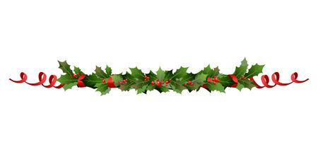 Illustration pour Christmas holiday line - image libre de droit