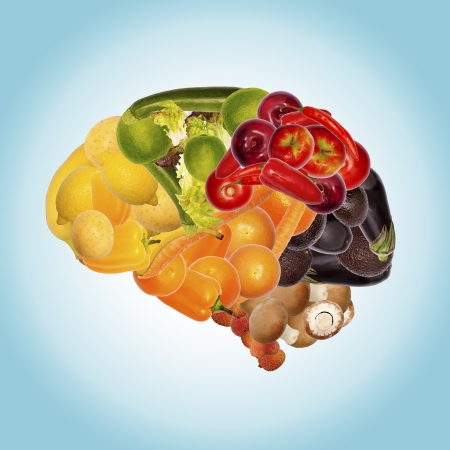 Foto de healthy nutrition is good for brain - Imagen libre de derechos