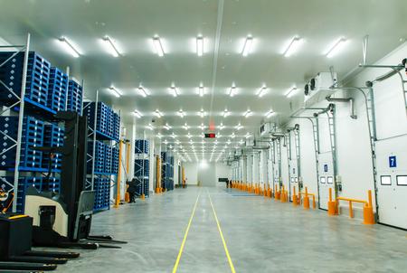 Foto de Warehouse freezer - Imagen libre de derechos