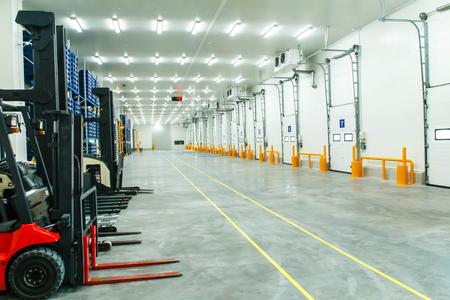 Photo pour Warehouse freezer - image libre de droit