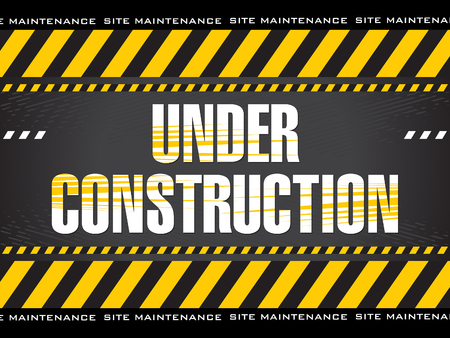 Illustration pour abstract artistic creative under construction background vector illustration - image libre de droit