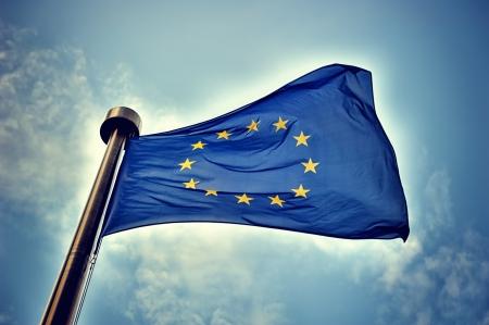 Photo for European Union flag - Royalty Free Image