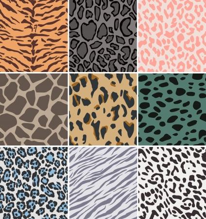 seamless fabric animal skin pattern