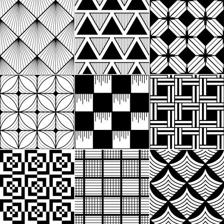 Foto de monochrome abstract seamless background  - Imagen libre de derechos