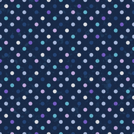 Photo pour polka dots seamless background - image libre de droit