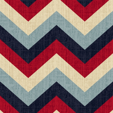 Illustration for seamless chevron pattern  - Royalty Free Image
