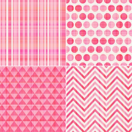 Illustration pour seamless pink texture pattern background  - image libre de droit