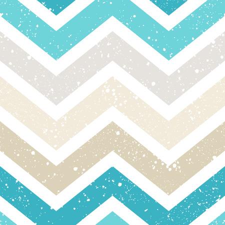 Illustration for seamless grunge chevron pattern - Royalty Free Image