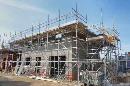 Photo for House under construction - Royalty Free Image