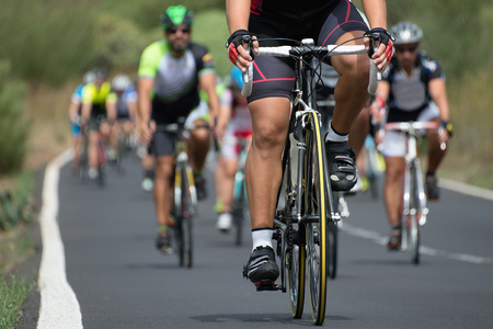 Photo for cycling competition - Royalty Free Image