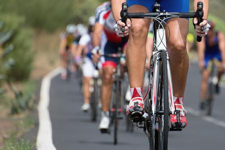 Foto de cycling competition race - Imagen libre de derechos