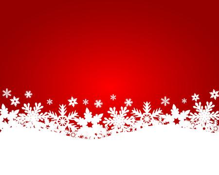 Illustration pour Christmas red background - image libre de droit