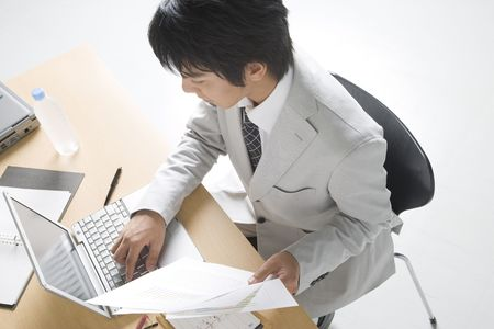 Photo for Japanese office worker - Royalty Free Image