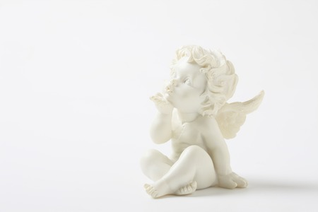 Photo for Plaster figure of an Angel - Royalty Free Image