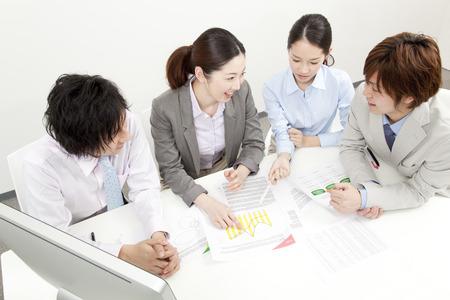 Photo pour Corporate meeting - image libre de droit