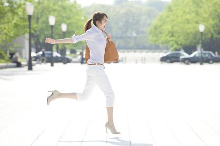 Photo pour Jump to OL - image libre de droit