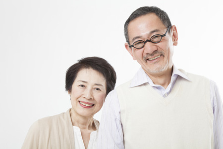 Foto de Smiling senior couple - Imagen libre de derechos