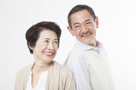 Photo for Senior couple gazing at - Royalty Free Image
