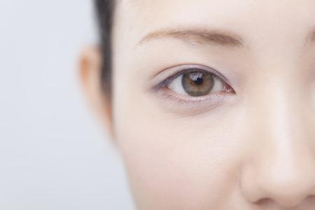 Photo pour Female eyes - image libre de droit