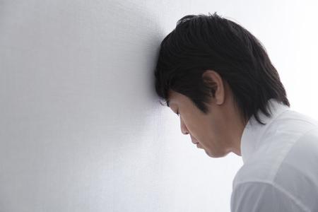 Foto de Depressed businessman - Imagen libre de derechos