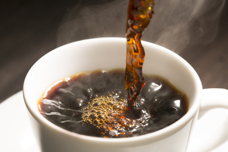 Photo for Hot coffee - Royalty Free Image